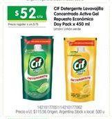 Oferta de Detergente Cif por $52
