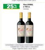 Oferta de Vino Uxmal por