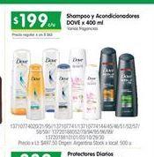Oferta de Shampoo Dove por $199