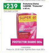 Oferta de PROTECTORES CAREFREE por $239