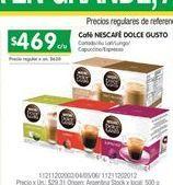 Oferta de Cafe Nescafé por $469