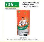 Oferta de Limpiadores Mr Músculo por $35