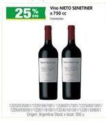 Oferta de Vino Nieto Senetiner por