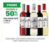 Oferta de Vino Callia Alta por