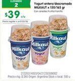 Oferta de Yogur Milkaut por $39