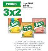 Oferta de Jugos Tang por