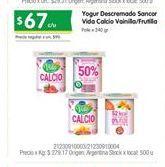 Oferta de Yogur descremado SANCOR por $67