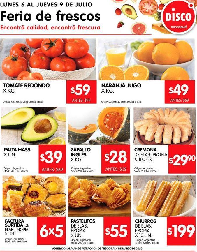 Oferta de Fruta y verdura por