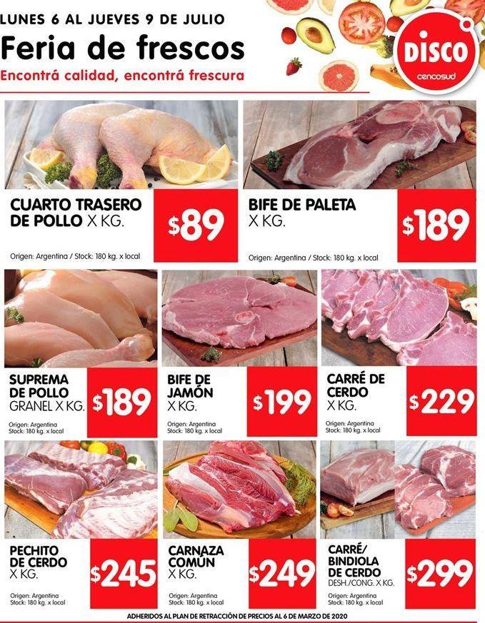 Oferta de Carne por