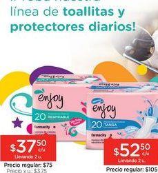 Oferta de Protectores Diarios Respirables S/deo x 20 Unid. por
