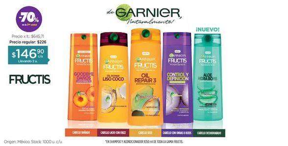 Oferta de Shampoo/Acondicionador x 350 ml. por