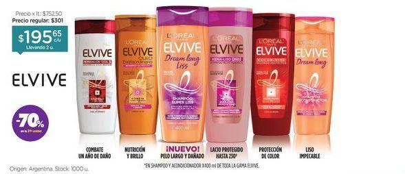 Oferta de Shampoo/Acondiconador x 400 ml. por