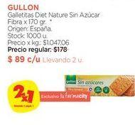 Oferta de Galletitas Diet Nature Sin Azúcar Fibra x 170 gr. por