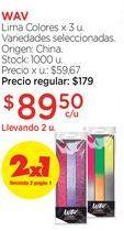 Oferta de Lima Colores x 3 u. por