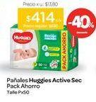 Oferta de Pañales Active Sec Xtra Flex Mega Pack por