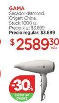 Oferta de Secador GAMA por $2589,3