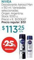 Oferta de Desodorante Aerosol Men x 150 ml. por