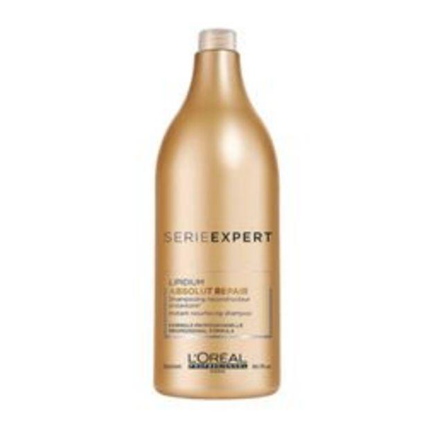 Oferta de Shampoo L'oréal Professionnel Serie Expert Absolut Repair 1500 Ml por $5,9