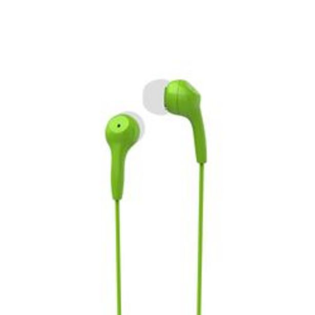 Oferta de Auriculares 3.5 mm Motorola EARBUDS 2 Lima Verde por $699