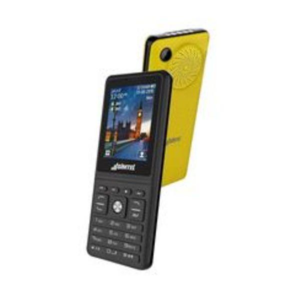Oferta de Celular Feature Phone Simtel 4400 Express Music Amarillo por $4,499