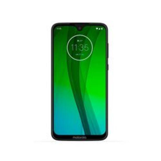 Oferta de Celular Liberado Motorola Moto G7 XT1962 Blanco 64 GB por $44,999
