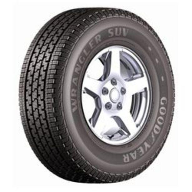 Oferta de Neumático Goodyear Wrangler Suv 235 / 60 R16 100 H por $15,085