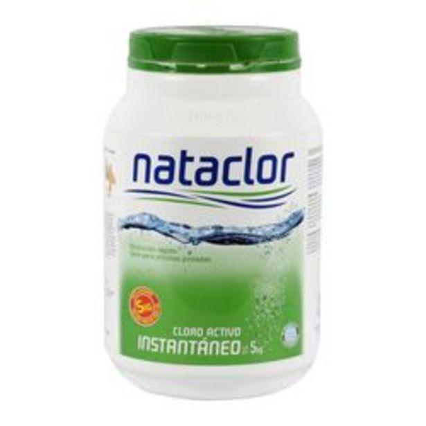 Oferta de Cloro Nataclor Instantáneo x 5 kilos por $4,452