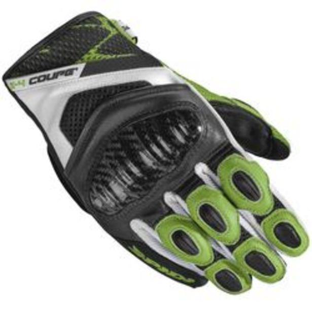 Oferta de Guantes para Moto Spidi X-4 COUPE Negro y Verde XL por $6,417