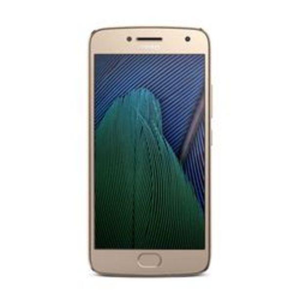 Oferta de Celular Liberado Motorola Moto G5 Plus XT1680 Dorado 32 GB por $28,499