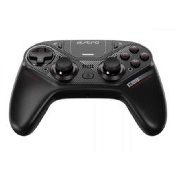 Oferta de Joystick Astro C40 Negro por $47,499