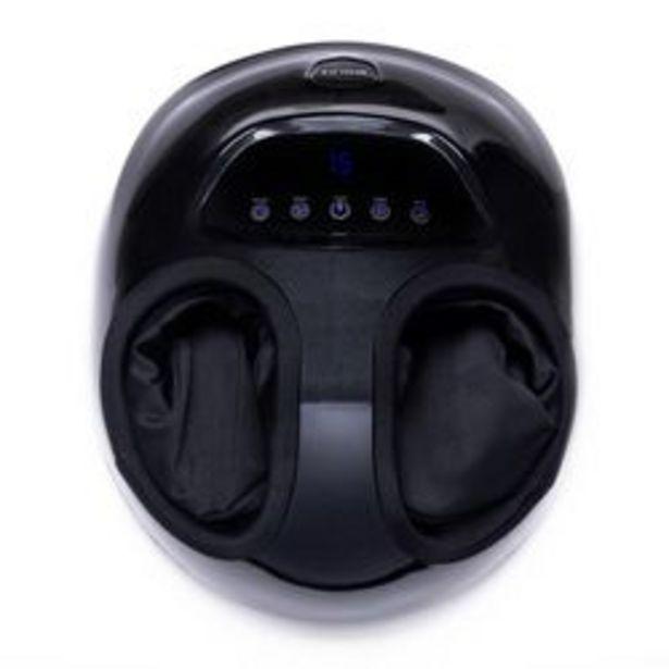 Oferta de Masajeador Wolke Masajeador Pies Talón Shiatsu Calor Negro 6 Esferas. por $16,149