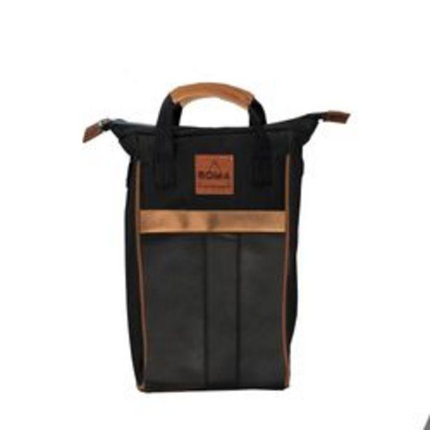 Oferta de Bolso Matero Rowa Almagro Negro por $3,99