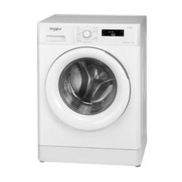Oferta de Lavarropas Automático Whirlpool 7.5 KG WLF75AB Blanco por $57,699