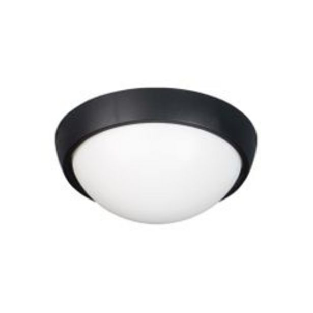 Oferta de Aplique de Pared LED Artelum Lisa 15 W. 26 x 26 Cm. Negro 1 U. por $1,633