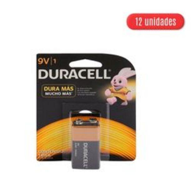 Oferta de Baterías Duracell MN 16048B1 9V 12 U. por $2,2