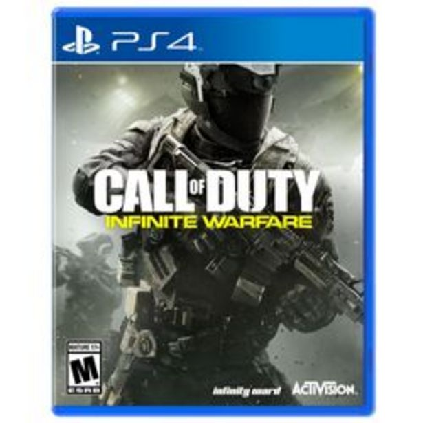 Oferta de CALL OF DUTY: INFINITE WARFARE PS4 por $2,499