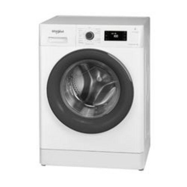 Oferta de Lavarropas Automático Whirlpool 9 KG WLF91AB Blanco por $73,899
