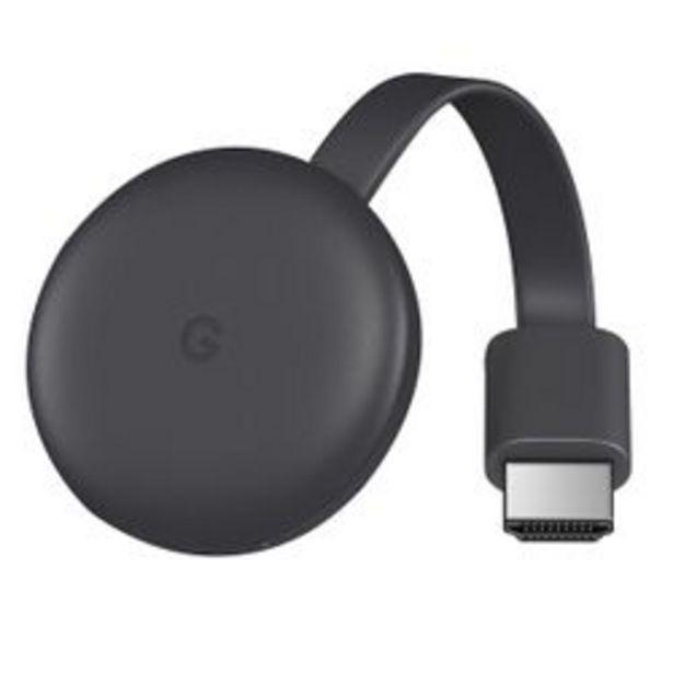 Oferta de Chromecast GOOGLE 3 por $6,999