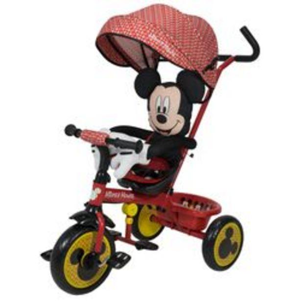 Oferta de Triciclo Disney Xg - 18819 Mickey Rojo y Negro por $14,299
