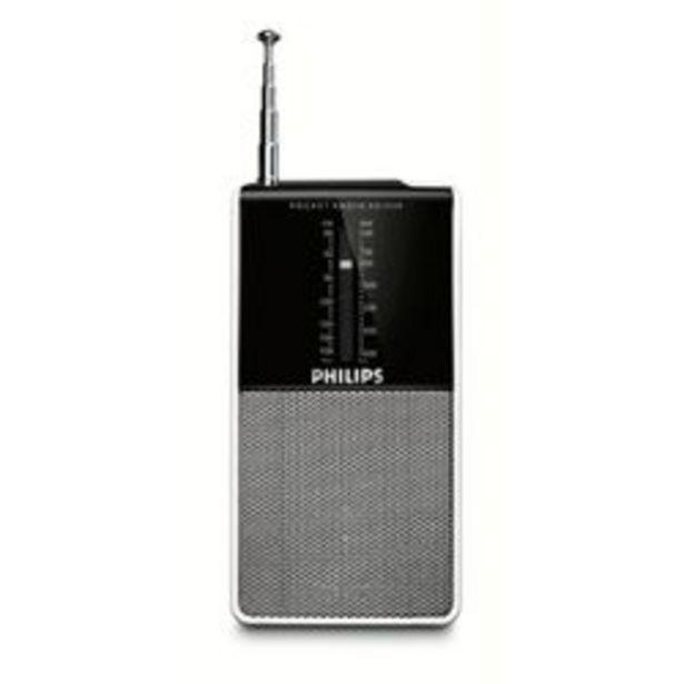 Oferta de Radio AM/FM Philips AE1530/00   Negro por $2,399