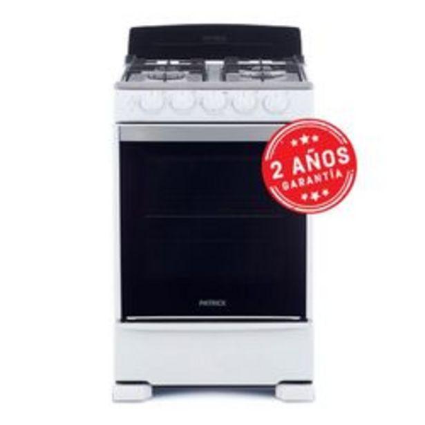 Oferta de Cocina Patrick 55 Cm. CP6855B Multigas Blanca por $38,999