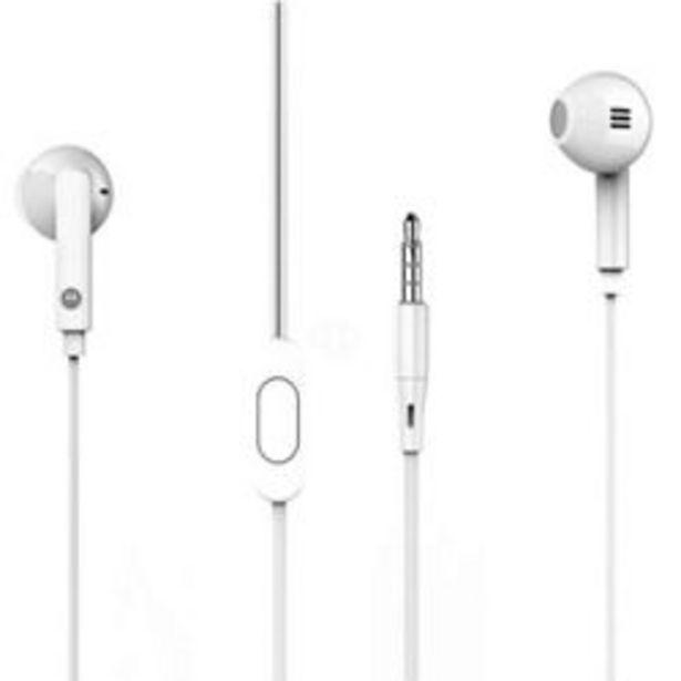 Oferta de Auriculares para Celular 3.5 mm Motorola Pace 145  Blanco por $650