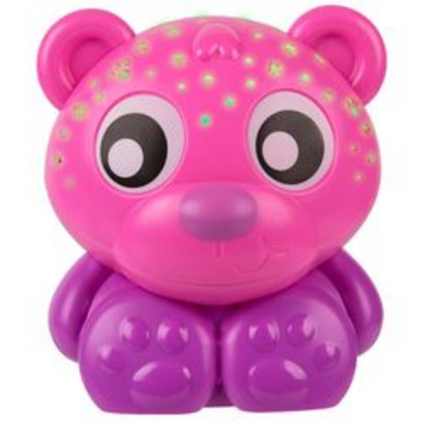 Oferta de Luz de Noche Playgro Goodnight Bear Rosa por $1,939