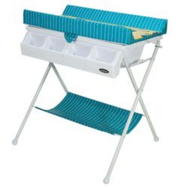 Oferta de Catre de Baño Bebitos Ca - 20 Azul con rayas Azul por $14,299