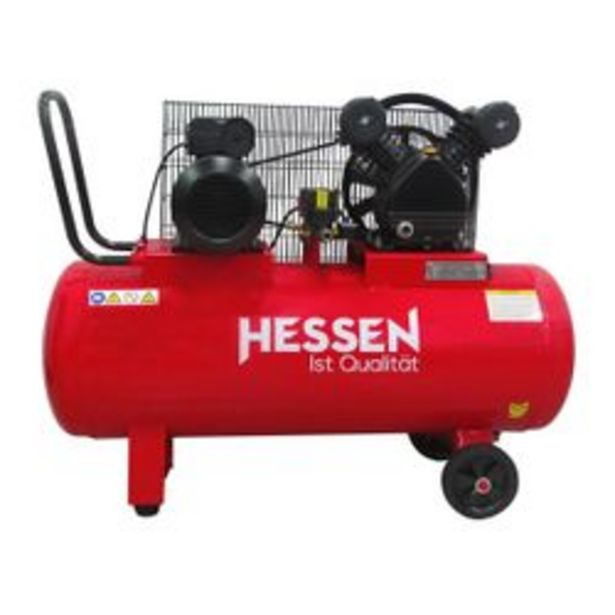 Oferta de Compresor  Hessen Pro  A Correa  100 Lts. por $45,99
