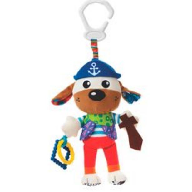 Oferta de Mordillo con Peluche Playgro Activity Friend Captain Canine por $2,659