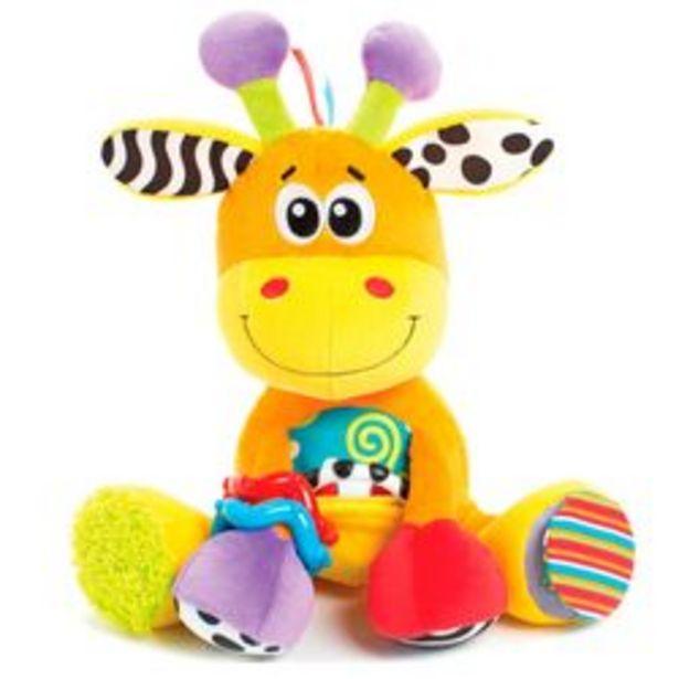 Oferta de Mordillo con Peluche Playgro Discovery Friend Giraffe por $3,389