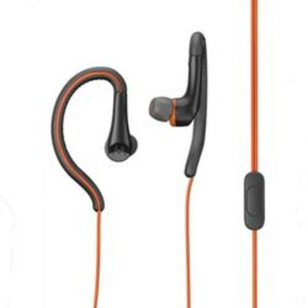 Oferta de Auriculares para Celular 3.5 mm Motorola Earbuds Sport Naranja por $630