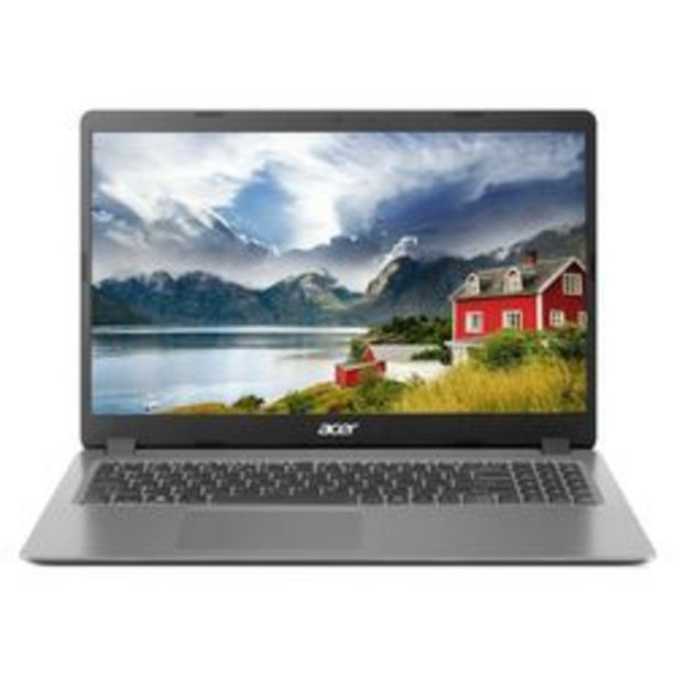 "Oferta de Notebook Acer Aspire 3  A315-56-594W Premium  15.6 "" Intel Core i5 8 GB DDR4 por $112,999"