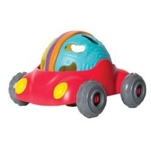 Oferta de Sonajero Playgro Rattle And Roll Car Plástico por $1,639